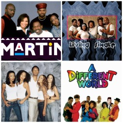 "purplepoetryinmotion:  So I was watching Martin and it got me thinking about how the ""old school"" shows were funny, entertaining but also showed positive images for African Americans, especially women as opposed to the foolishness that has infiltrated television in the past years. How,Why and When did this happen were these types of shows were taken of the air and replaced with ignorance? I mean really think about it. These tv programs and many countless others shed a positive light on the African American experience in the early 90s-00s It wasn't preachy or in your face It was thinly masked by comedy. If you look at the past shows in comparison to the ""basketball wives & Love and Hip Hop"" type programming,you may appreciate these ""old school""shows for more than just the laughter. Take these shows for instance: MARTIN Gina and Pam were both career women who always strived for better in their work lives. One of Pam's dreams was to have a corner office with a view and Gina was promoted to an executive at her entertainment company. Even though the ongoing joke was that Pam was always looking for a man,when she was faced with a rich man who was going to take care of all her needs she declined because she knew she was more valuable than to be bought. Heck even Sheneneh OWNED her own business as a beautician.  And for the men, we don't know exactly what tommy or cole did but Martin was a successful radio dj who eventually got his own short lived talk show. LIVING SINGLE Everyone was pretty successful on the show  -Khadijah owned and managed a successful Magazine -Max was one of her firms top Lawyers -Sinclair(my favorite character) although not as successful as the others was always striving to fulfill her dream,she never gave up on being an actor. -Regine lol although she was a gold digger waiting for that rich and influential man to take her to another level of wealth she was working on a soap opera and was a buyer for a boutique so its not like she wasn't working. Her gold digger ways were subsided temporarily. -Obie successful handyman  -Kyle worked as stockbroker on Wall Street. GIRLFRIENDS Joan- lawyer/run a successful restaurant/bar William-lawyer who eventually made partner Tony-real estate broker Mya-best selling author Lynn-who was searching to find herself but she did have 5 masters degrees  A DIFFERENT WORLD Way too many characters to go through but a setting in a collage were African American students are striving for a higher education so they can have a great future for their lives.And a supporting cast of teachers janitors and coaches that helped lead them in the right paths of life."