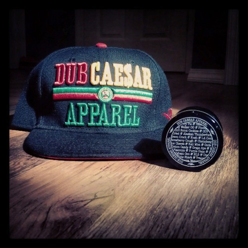 #fresh @dubcaesar #snapback & #strainsgrinder #dca  (at the house)