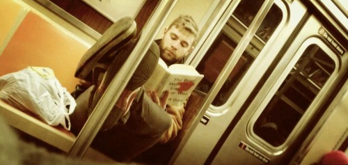 Subway Reader  Christian Ledan Photography