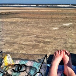 First beach day of the season! #folly #chanel #sun #sand #happy #peaceful