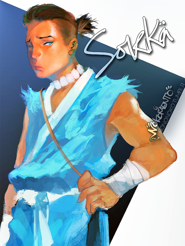 suddenly Sokka doodle i really like his hairdo~ still trying to get it right hngh