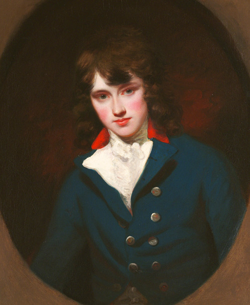 monsieurlabette:  John Hoppner. Portrait of William Locke, 1790.