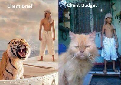 brief vs budget