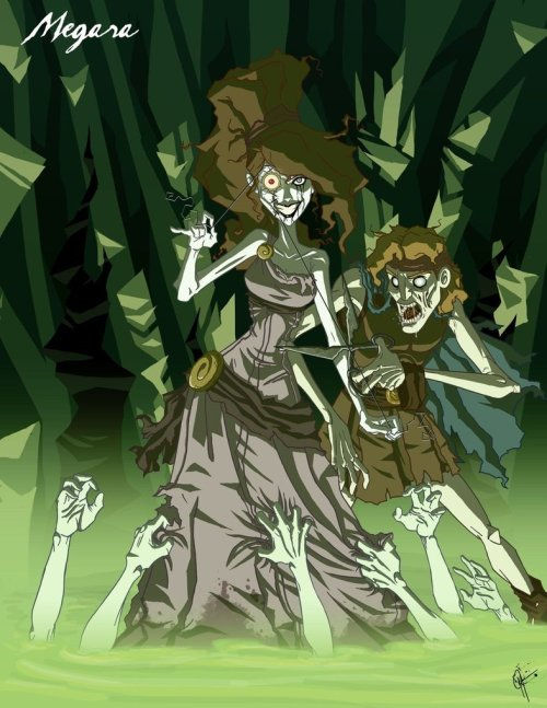 secretunicornworld:  Looove these creepy zombie princesses!