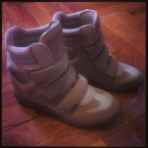 my #shoes finally arrived!;)  #hightop #sneakers