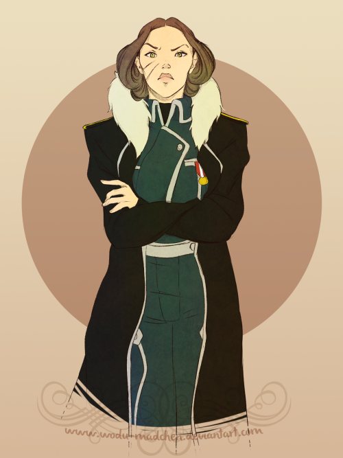 mkuntz:  Now the other way around, Major General Lin Beifong! Get lazy on this one and didn't do much stuff, but I liked the result nonetheless :)