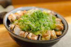 Yakitori Totto - Negi Tori Don by Cheeryvisage on Flickr.