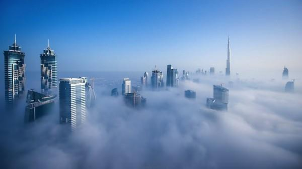 Dubai in the sky.