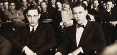 May 21st 1924: Leopold and Loeb kill Bobby Franks On this day in 1924, University of Chicago students Richard Loeb and Nathan Leopold Jr murdered 14 year old Bobby Franks. The pair killed the boy as a 'thrill killing' in their attempt to perform the perfect crime. However, the two were caught and put on trial. They used their wealth and influence to hire famous defence lawyer Clarence Darrow who argued the pair could not be held morally accountable because they had been raised thinking they were superior and thus are not to blame for their actions. He was successful, and the men avoided the death penalty, instead getting life imprisonment.