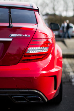 justuceidk:  crash—test:  MERCEDES C63 AMG BLACK SERIES at the Nurburgring (by MrBrinkles)