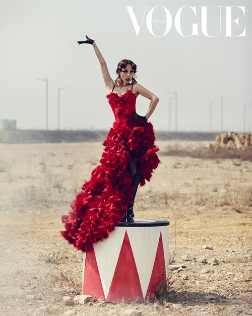 Vogue Korea Title: Show Girl Model: Lee Hyori Photographed by Hong Jang Hyun May 2013