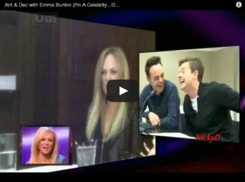 Watch this hilarious video of Emma Bunton (Baby Spice) playing a prank, and zig-a-zig-ah with laughter.