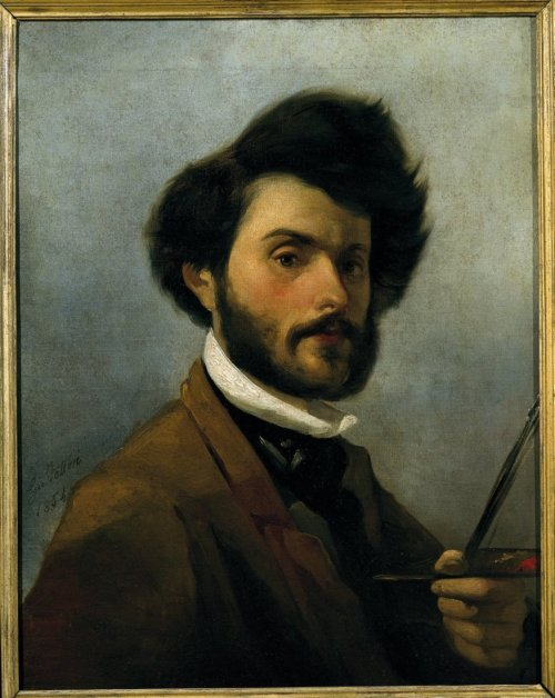 cavetocanvas:  Giovanni Fattori, Self Portrait, 1854