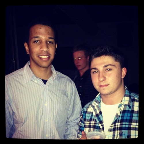 #TBT Not a huge throwback, but first semester with my boy @Micah2Smooth