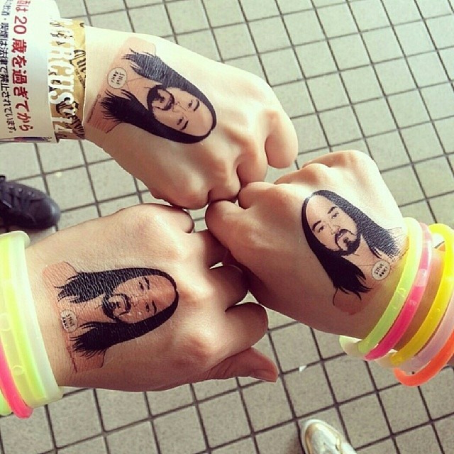 Aoki stamps!