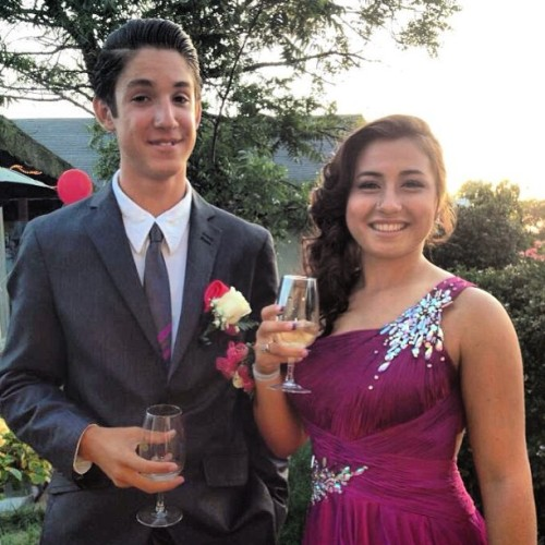 An amazing time with an amazing girl @victoria_n_trono :) #classycups #prom #2013 #night #to #remember