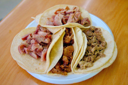 Try the Whole Pig at Tacos y Carnitas Sahuayo In which I eat a pig's snout (and why you should, too).   [seriouseats | paul bartunek]