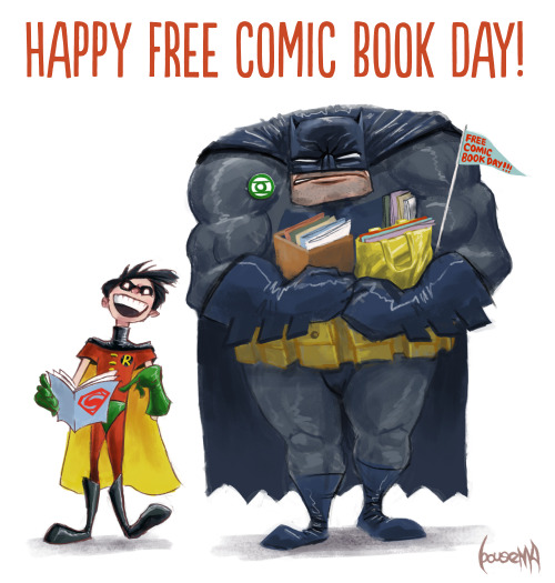 Free Comic Book Day España: Cooperdiem • Jamesbousema: Happy Free Comic Book Day