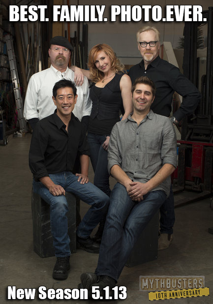 laughingsquid:  MythBusters 10th Anniversary Season Premieres May 1st