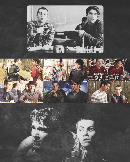 teen wolf meme: five brotps - scott & stiles