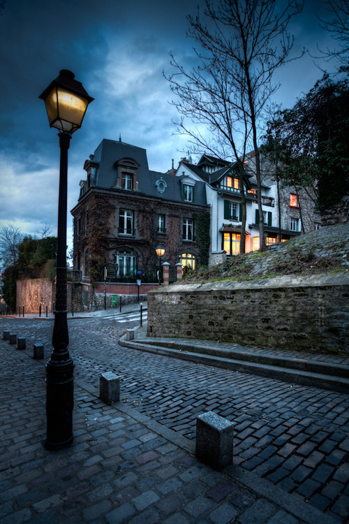 katiecostellomusic:  tselentis-arch:  Early Evening, Monmartre, Paris, France Photo: Ramelli Serge via Cinnamon Tea Paris  heart explosion.