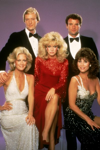 Knots Landing Fans! Did you know that it has been 20 years since the series ended? Tune in to The Talk today at 2pm ET/1pm CT/PT to watch the cast's 20th anniversary reunion and see actual costumes work by Michele Lee, Joan Van Ark, and Donna Mills from the Television Out of the Box Exhibit!