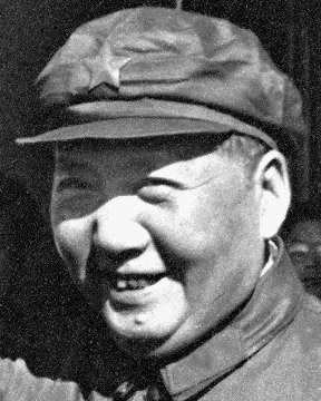 "Few photographs exist of Mao Zedong's teeth. According to his doctor Li Zhisui, Mao never brushed his teeth, which were coated with a green patina. Mao's habit, shared by many peasants in China, was to wash his mouth in the morning with tea and then chew tea leaves. When, once, Dr. Li suggested to him that he should use a toothbrush, Mao's reply was, ""A tiger never brushes his teeth."""