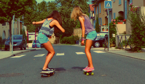 sky-is-ours:  Girls | via Tumblr on We Heart It - http://weheartit.com/entry/58513100/via/MiruuSanchez   Hearted from: http://ana-ana-margarida.tumblr.com/post/47802023357