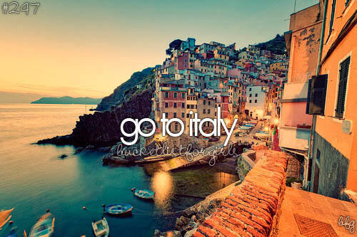 Italy | via Tumblr on We Heart It. http://weheartit.com/entry/57497983/via/hilda_enander