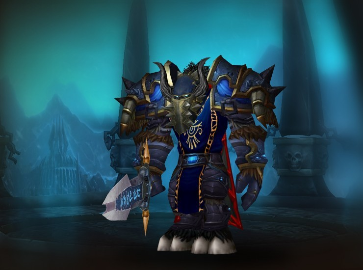 Orcanium Male Tauren Death Knight US The Forgotten Coast [Helm of the Illidari Shatterer] [Frostblight Pauldrons] [Sky Darkener's Shroud of Blood] [Saronite War Plate] [Guild Tabard] [Plated Saronite Bracers] [Web Cocoon Grips] [The Plaguebringer's Girdle] [Engraved Saronite Legplates] [Greaves of the Slaughter] [Greatsword of the Ebon Blade]