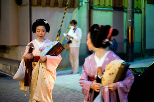 geisha-licious:  geiko Ichiyuri by KUUAN on Flickr