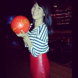 #me #bowling #nyc #lovethiscity #bk #brooklyn #asian #girl #goodtimes #travelgram #traveldiary #monday  (at Brooklyn Bowl)