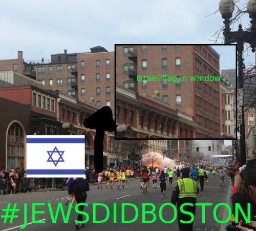 gayniggerassociationofamerica:  GNAA reveals shocking truth about the Boston attacks. #JewsDidBoston  Knew it.