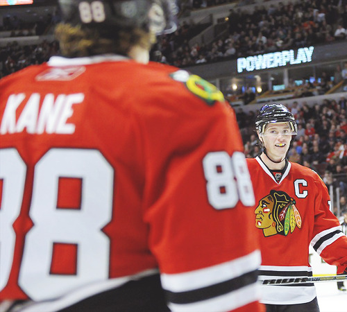 24/30 - pictures of Jonathan Toews and Patrick Kane.
