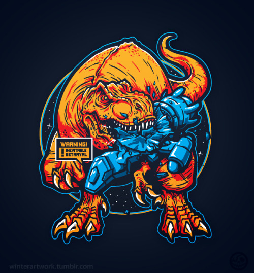 winterartwork:  Warning! BetrayalLimited edition $10 tee on Teefury this Sunday 20th —> HEREif you miss out on the 24 hour sale —> HEREcheck out my   Store   •   Behance   •  Twitter   •   Facebook
