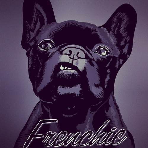 Frenchie Cuteness. #frenchbulldog #frenchie #illustration #dog