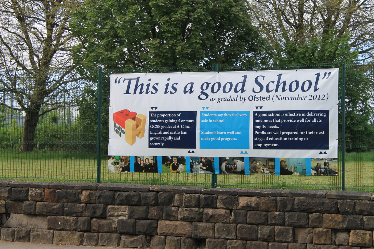 """This is a good school"" Wow. Thanks Ofsted."