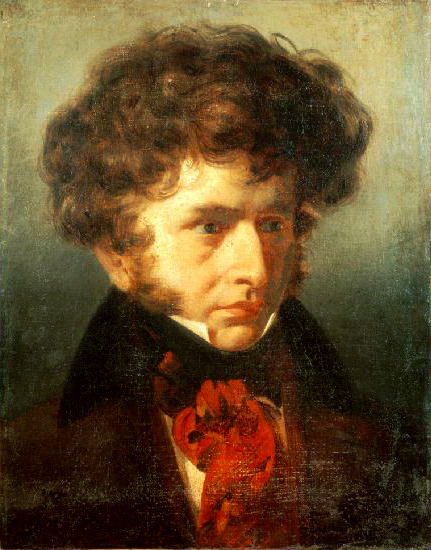 "blogthoven:  Portrait of Hector Berlioz by Émile Signol, 1832 ""Love or music - which power can uplift man to the sublimest heights? It is a large question; yet it seems to me one should answer it in this way: Love cannot give an idea of music; music can give an idea of love. But why seperate them? They are the two wings of the soul."""