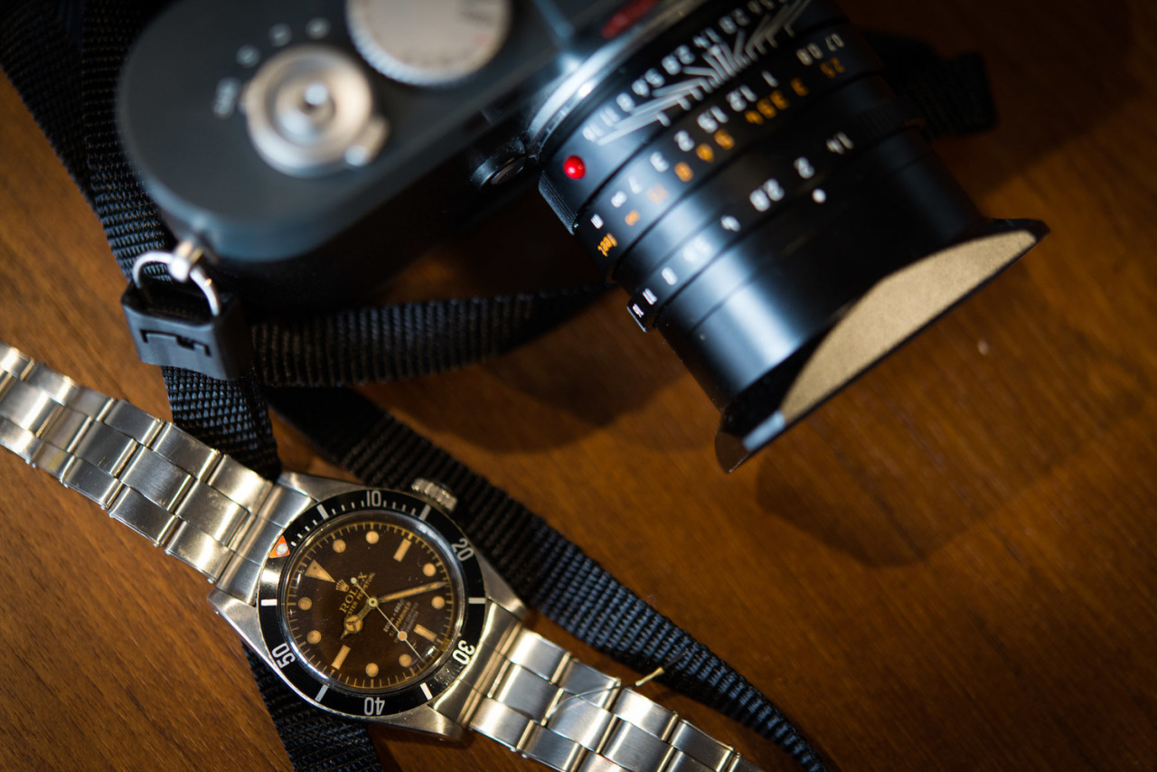 hodinkee:  This Submariner just sold for $549,357. And you thought Leicas were expensive.   Story.