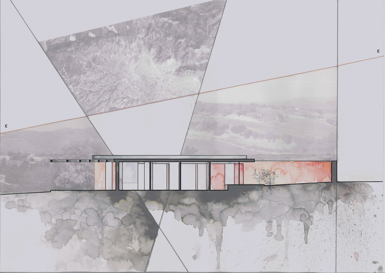drawingarchitecture:  House in Megara, Attiki Aliki Karanikolas and George Papam