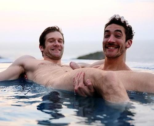 who needs floaties when you have bros?…     'topher :)  BestOfBromance@gmail.com - Twitter @BestOfBromance - BestOfBromance@gmail.com