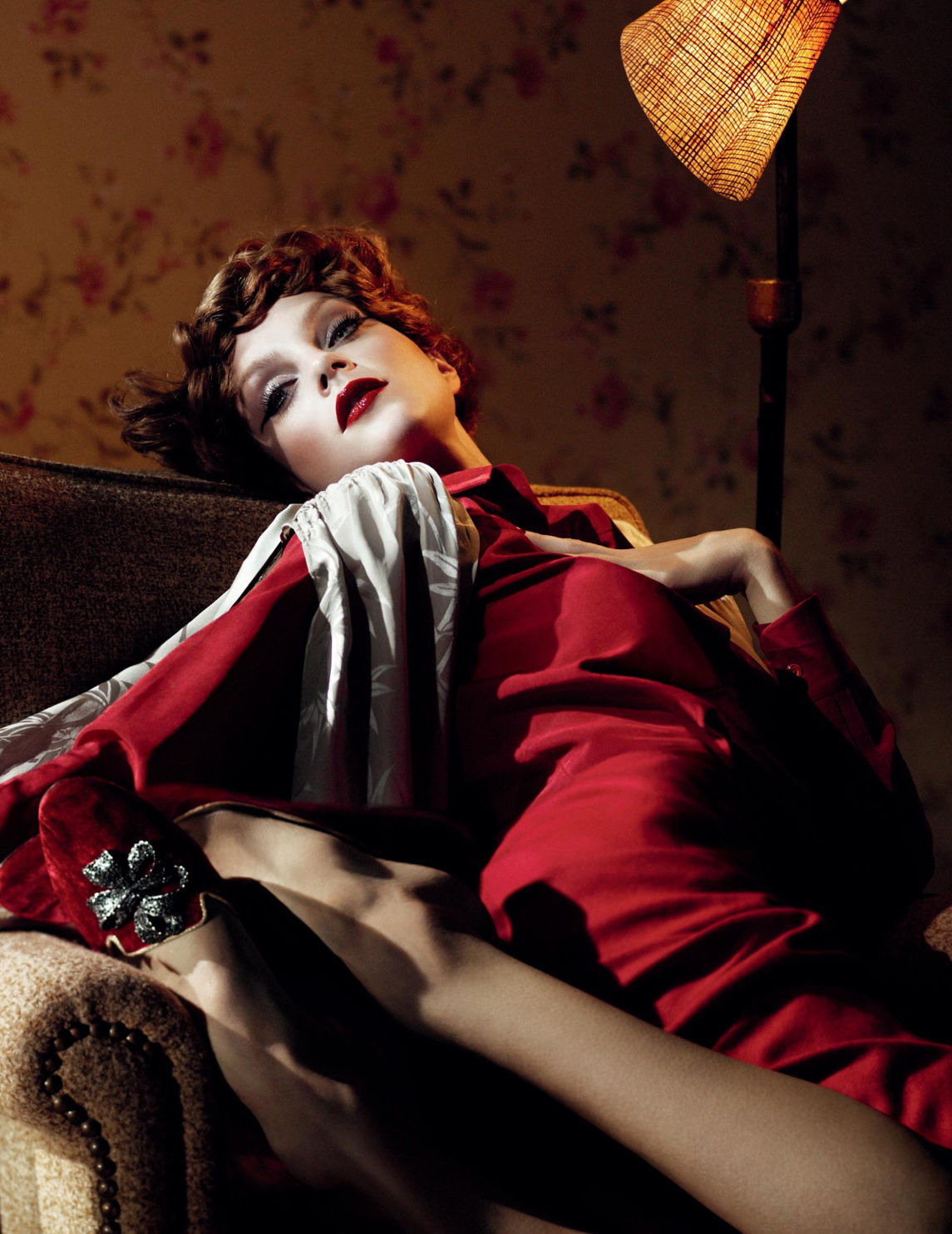 bohemea:  Jessica Stam: Long Day's Journey Into Night - W by Willy Vanderperre, January 2013