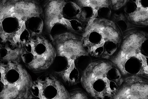horror black and white skull darknees evil trippy bones skeletons scary murder