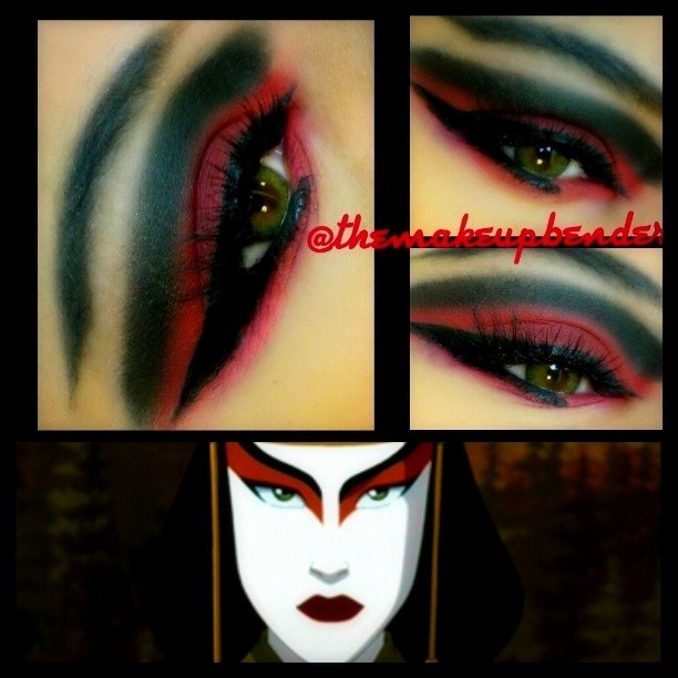 world-of-avatar:  #flashbackfriday #fbf #Kyoshi #avatar #themakeupbender #iheartmakeupart #mayamiamakeup #makeupart #makeupartist #korra #earthbender #bolin #makeupmafia #eotd #mua #creative #anime #iloveigmuas #makeupjunkie #makeuplovers by themakeupbender http://bit.ly/15o87KT