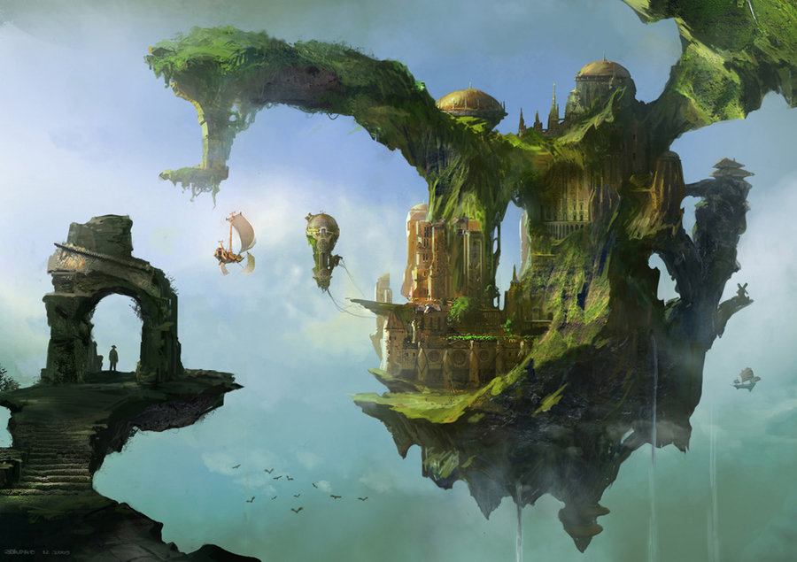 floating palace by ~jonone