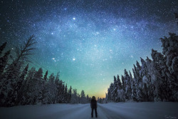 snow photography winter art people sky landscape stars water nature forest reflection river self portrait astro nightsky milkyway photographers on tumblr tiina törmänen