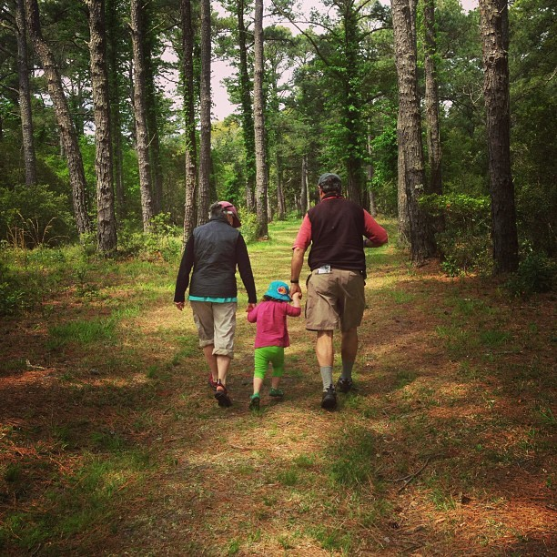Hike with Gran n Gramps. (at Buxton Woods)