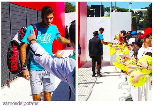 vamosdelpofans:  Happy Delpo is back! Pictures taken by @enricomariariva and @RAFAddicted.