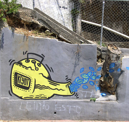 Caracas 2007 by Kryot on Flickr.#StreetArt | #Caracas