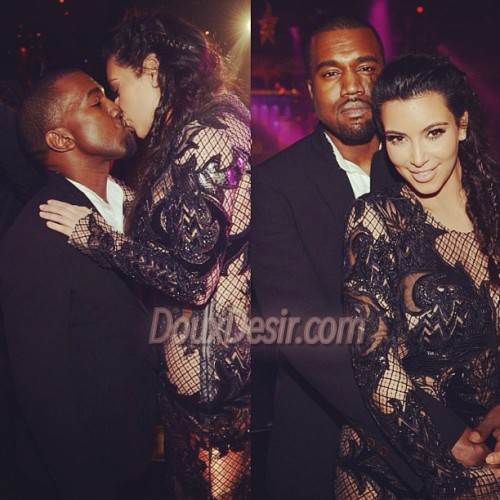 #Kim is so in love ❤❤❤❤ #kanyewest #kimkardashian